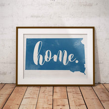 Load image into Gallery viewer, Customizable Home State Wall Art - multiple color options!