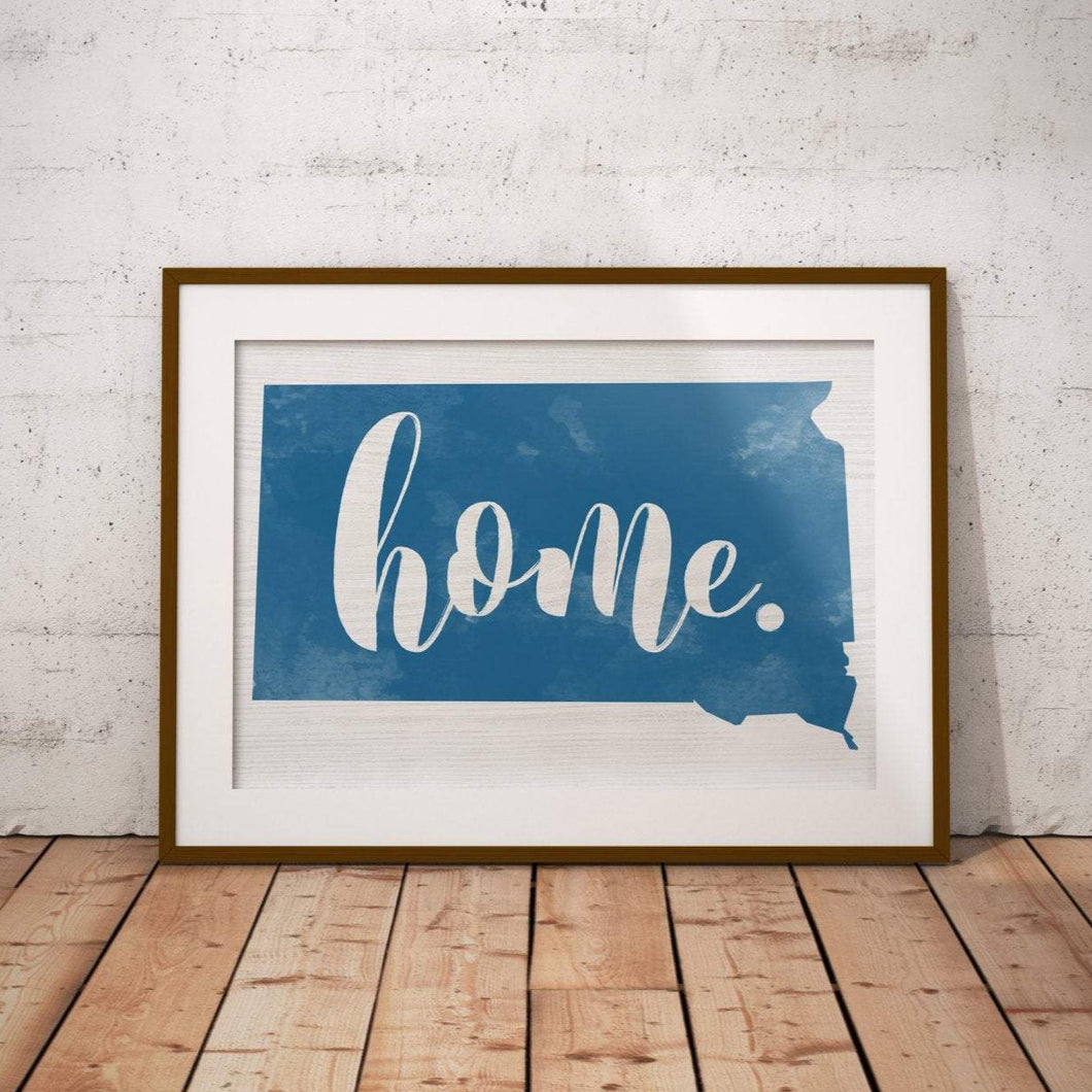 Customizable Home State Wall Art - multiple color options!