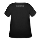 Women's Curvy T-Shirt - black