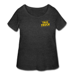 Women's Curvy T-Shirt - deep heather