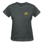 Gildan Ultra Cotton Ladies T-Shirt - deep heather
