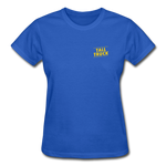 Gildan Ultra Cotton Ladies T-Shirt - royal blue