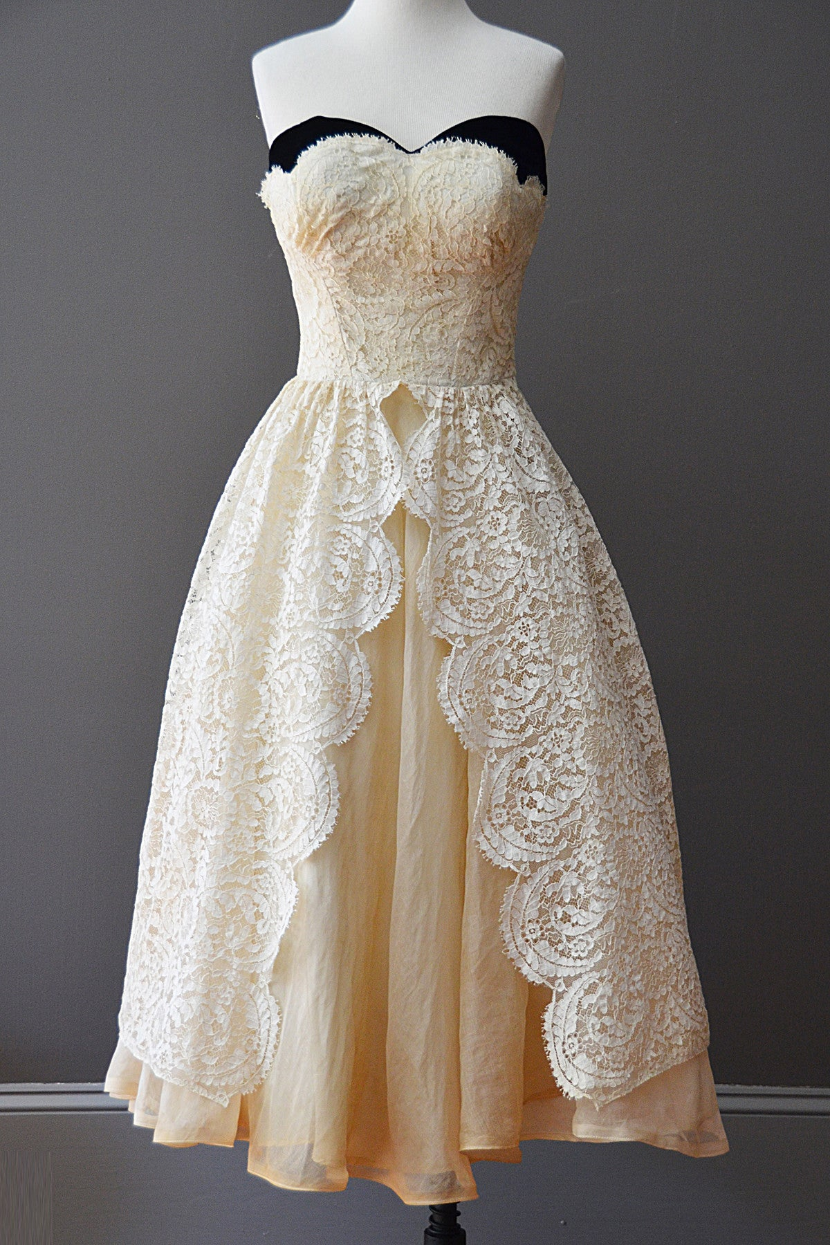 lace vintage prom dresses - photo #34