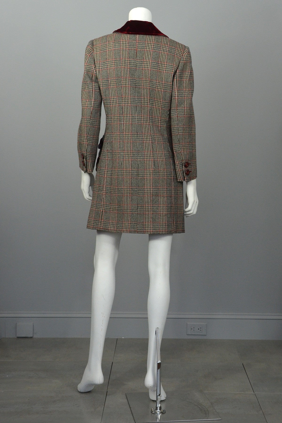 Valentino Tweed Riding Jacket