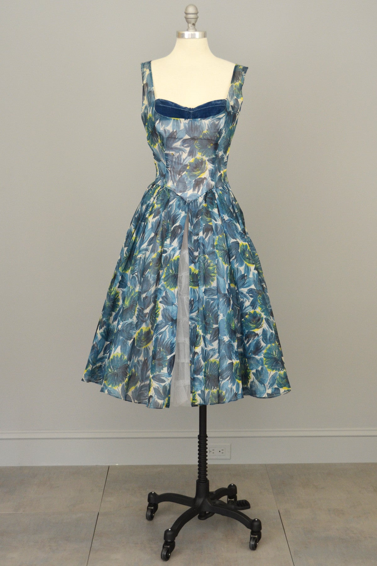 Will Steinman 1950s Retro Print Vintage Party Prom Dress