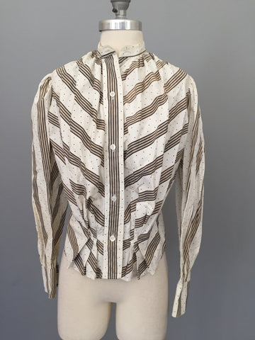 Early 1900s Victorian Blouse Titanic