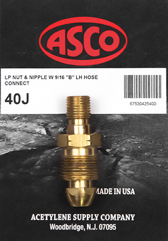 40J Propane Tank to Hose Adapter