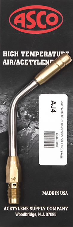 AJ4 High Temp Acetylene Tip - Medium Flame