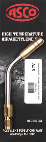 AJ5 High Temp Acetylene Tip - Heavy Flame