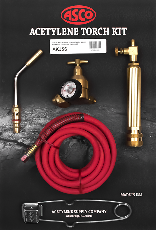 "Torch Kit w/Spring End Hose AKJ5S JET ""T"" ""Quick Connect"""