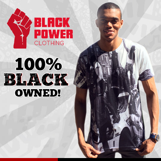 Black Power Clothing: 100% black owned clothing company