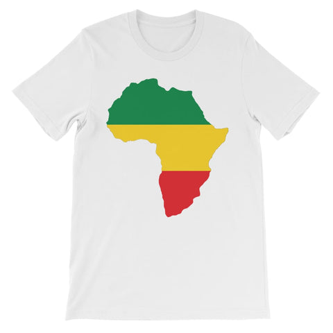 Africa Kids T-Shirt - White / 3 to 4 Years