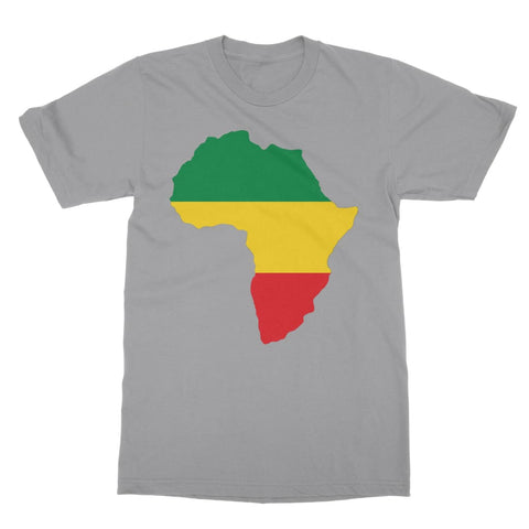 Africa T-Shirt - Light Grey / Unisex / S