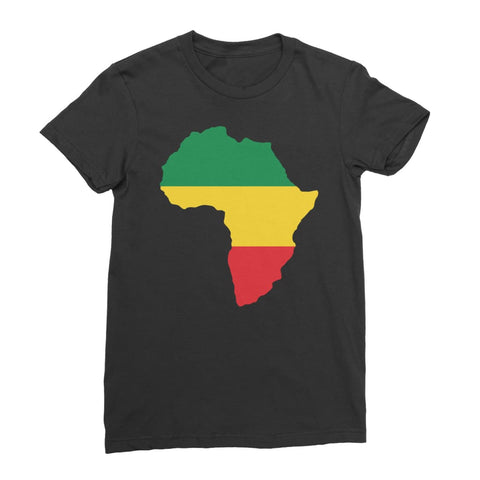 Africa Women's T-Shirt - Black / Female / S