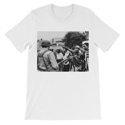 Against the Oppression Kids T-Shirt - White / 3 to 4 Years