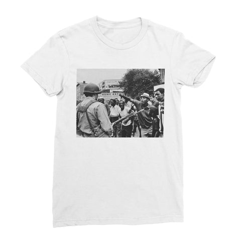 Against the Oppression Women's T-Shirt - White / Female / S
