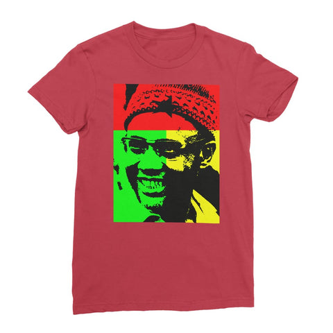 Amilcar Cabral Women's T-Shirt - Red / Female / S
