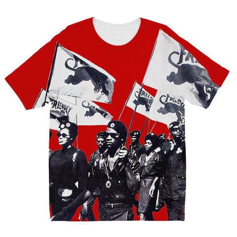 Black Panther Party Børne-T-shirt - 3 til 4 år