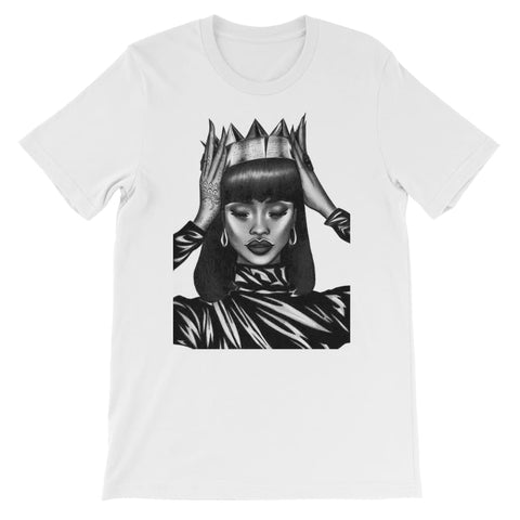 Black Queen Kids T-Shirt - White / 3 to 4 Years