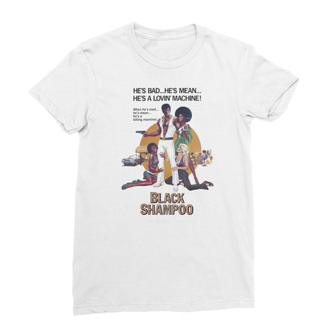 Black Shampoo Women's T-Shirt - White / Female / S