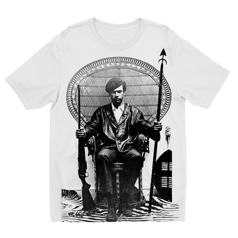 Huey P. Newton King Kids T-shirt - 3 to 4 Years
