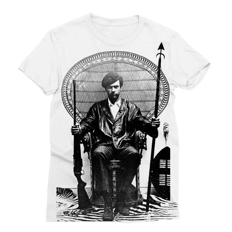 Huey P. Newton King T-shirt dam - XS