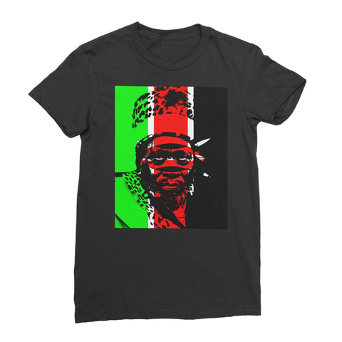 Jomo Kenyetta Kenya Women's T-Shirt - Black / Female / S