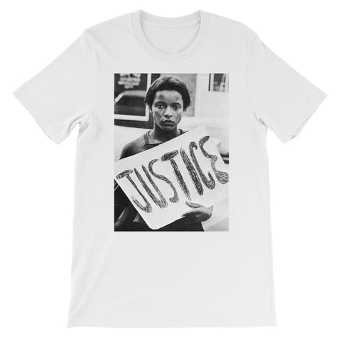 Justice Kids T-Shirt - White / 3 to 4 Years