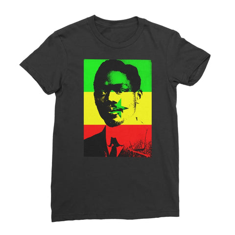 Leopold Senghor Senegal Women's T-Shirt - Black / Female / S