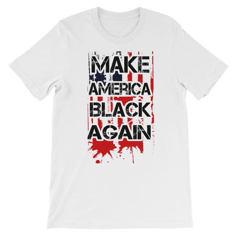 Make America Black Again Kids T-Shirt - White / 3 až 4 roky