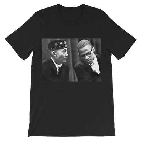 Malcolm X Best Enemies Børne-T-shirt - Sort / 3 til 4 år