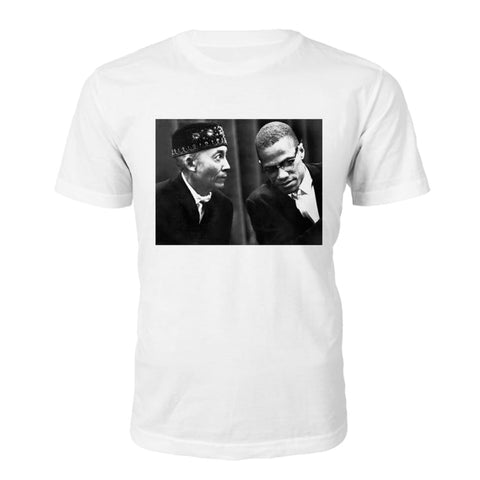 Malcolm X Best Enemies T-shirt