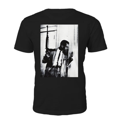 Tricou necesar Malcolm X By Any Means Necessary