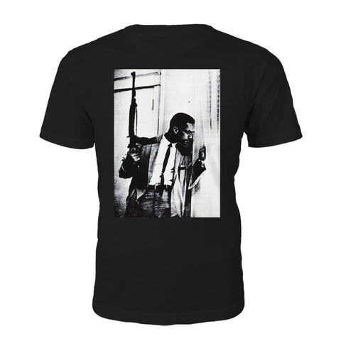 Malcolm X By Any Means Nødvendig T-shirt