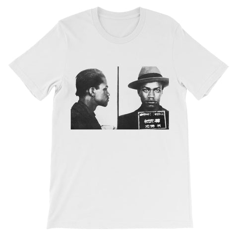Malcolm X Mugshot Kids T-Shirt - White / 3 to 4 Years