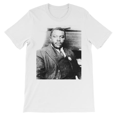 Marcus Garvey Prophet Kids T-Shirt - White / 3 to 4 Years