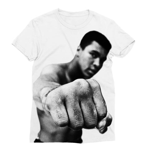 Muhammad Ali Punch Women's T-shirt - XS