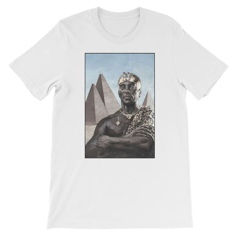 Nubian King Kids T-Shirt - White / 3 to 4 Years