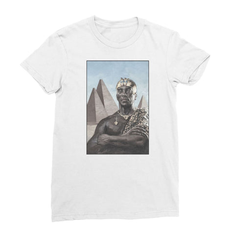 Nubian King Women's T-Shirt - White / Female / S