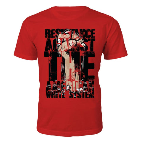Resistance Against the White System T-Shirt
