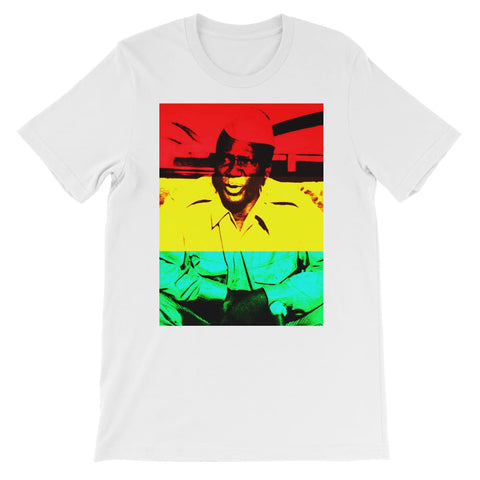 Sekou Toure Guinea Kids T-Shirt - White / 3 to 4 Years