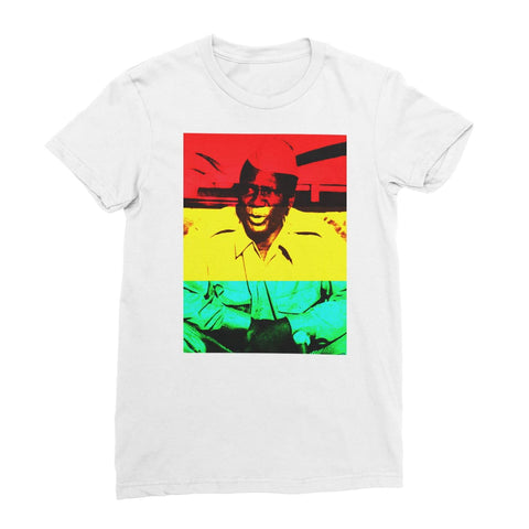 Sekou Toure Guinea Women's T-Shirt - White / Female / S