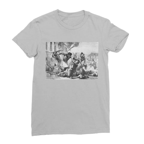 Slave Revolt Women's T-Shirt - Light Grey / Female / S