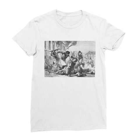 Slave Revolt Women's T-Shirt - White / Female / S