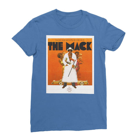 The Mack Poster Women's T-Shirt - Royal Blue / Female / S