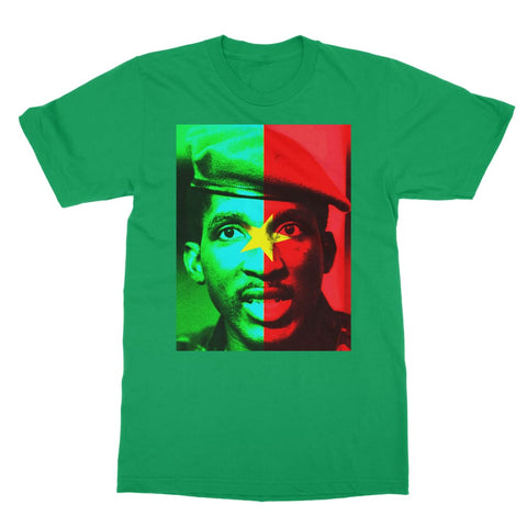 Thomas Sankara T-Shirt - Kelly Green / Unisex / S