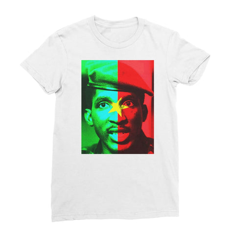 Thomas Sankara Women's T-Shirt - White / Female / S