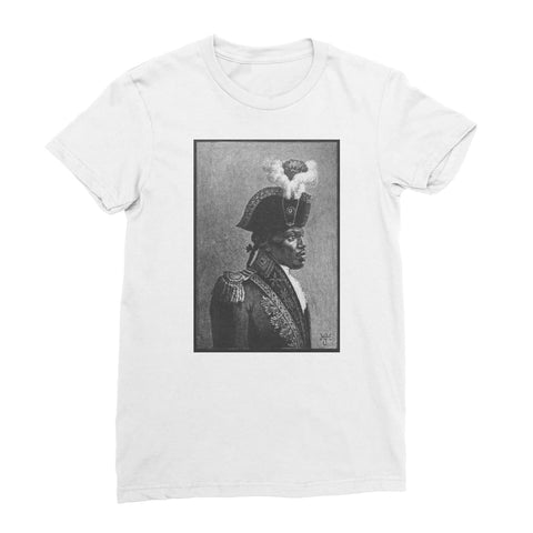 Toussaint Louverture Women's T-Shirt - White / Female / S