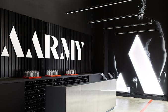 Aarmy fitness club