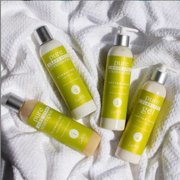 CurlMix hair care product